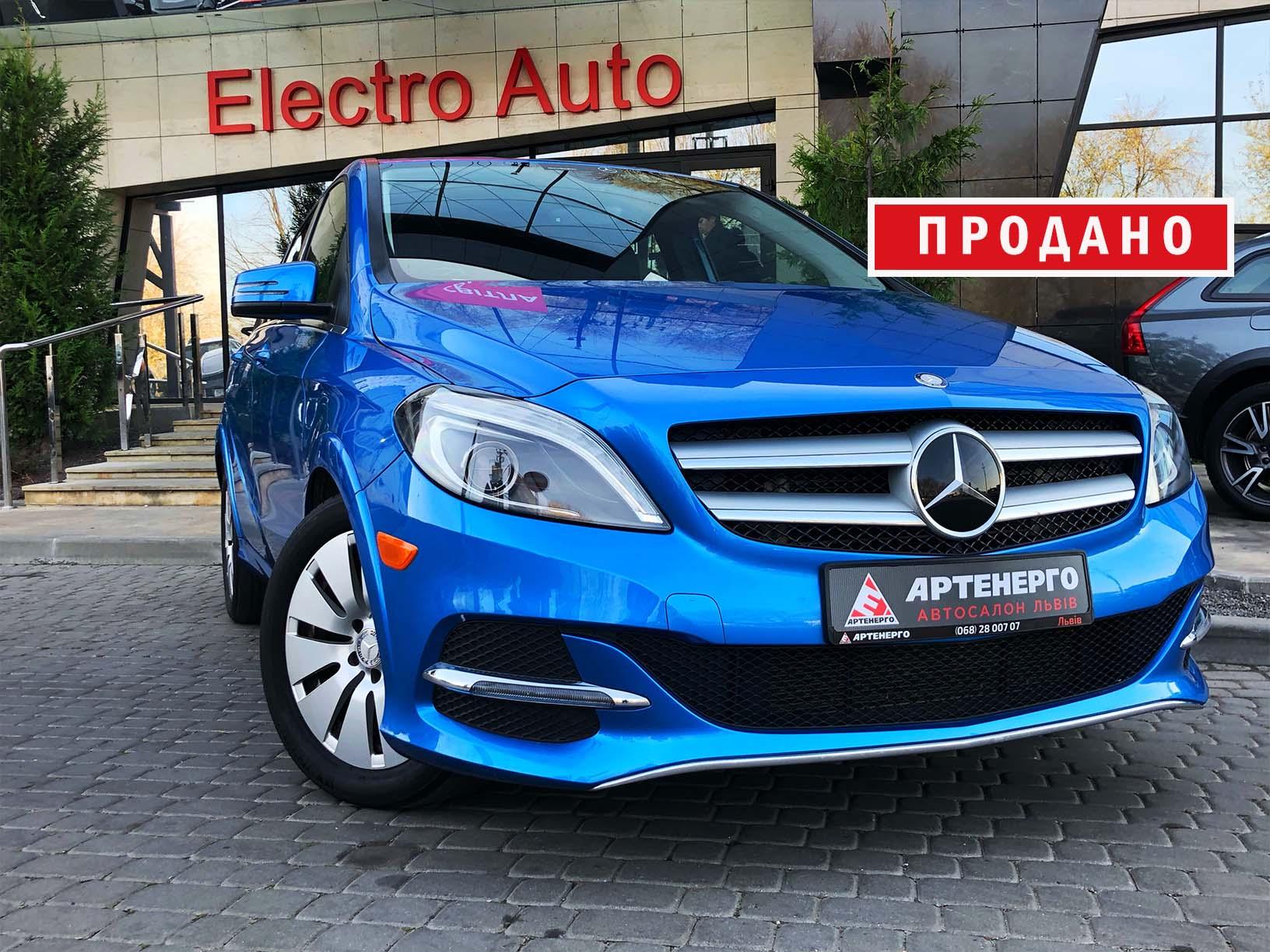Mercedes-Benz B-Class ED