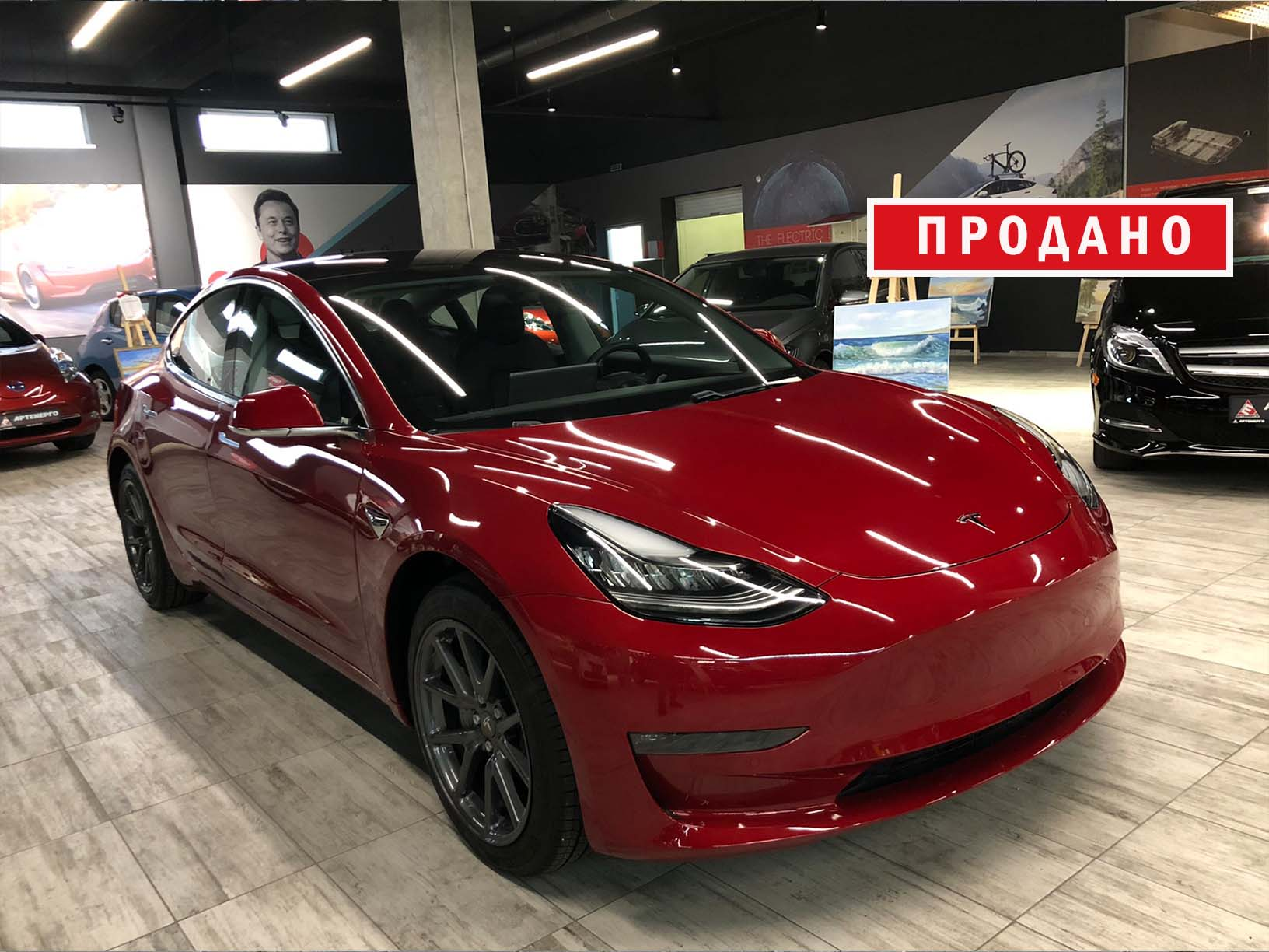 Електромобіль Tesla Model 3 Long Range